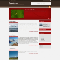 Touchriver Blogger Template