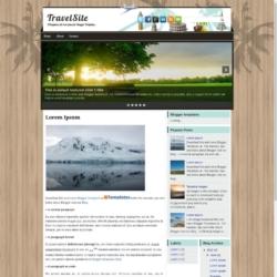 TravelSite Blogger Template