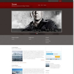 Tyrant Blogger Template