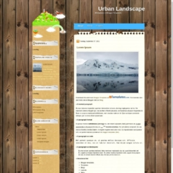 Urban Landscape Blogger Template