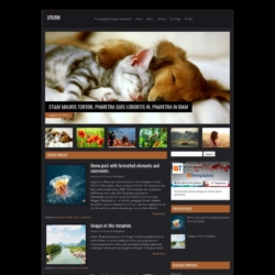 Uturn Blogger Template