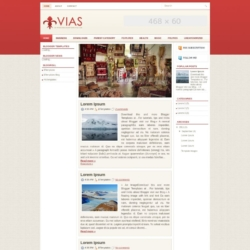 Vias Blogger Template
