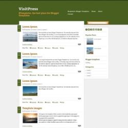 VisitPress Blogger Template