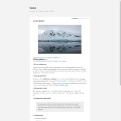 Vostok Blogger Template