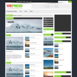 WePress Blogger Template