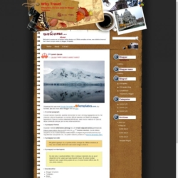 Why Travel Blogger Template