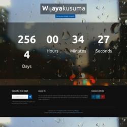 Wijayakusuma Blogger Template