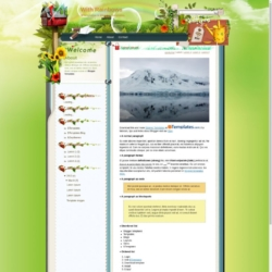 With Rainbows Blogger Template
