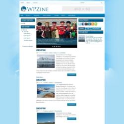 WPZine Blogger Template