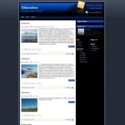 Xhilaration Blogger Template