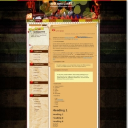 2011 New Look Blogger Template