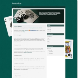 Acekicker Blogger Template