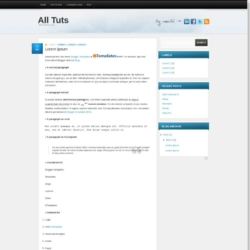 All Tuts Blogger Template