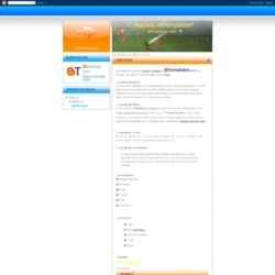 Aquaria Blogger Template