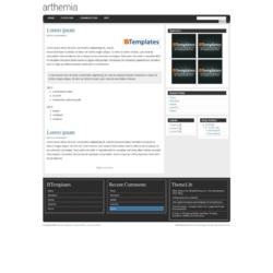 Arthemia Magazine Blogger Template