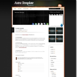 Astra Blogger Template