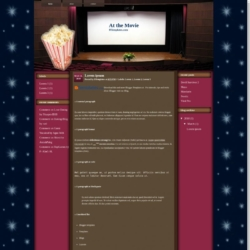 At the Movie Blogger Template