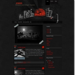 Atheros Blogger Template