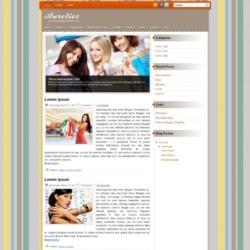 Aurelios v2 Blogger Template