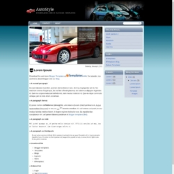 AutoStyle Blogger Template