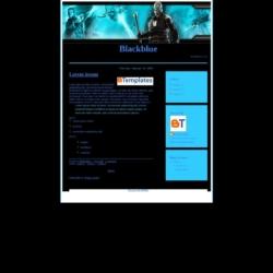 Blackblue Blogger Template