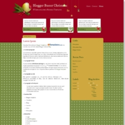 Blogger Buster Christmas Blogger Template