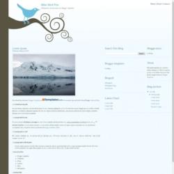 Blue Bird Pro Blogger Template
