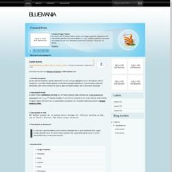 BlueMania Blogger Template