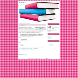 Books Blogger Template