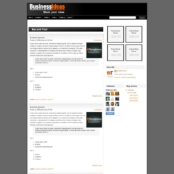 Business Ads Ready Blogger Template