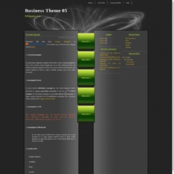 Business Theme 05 Blogger Template