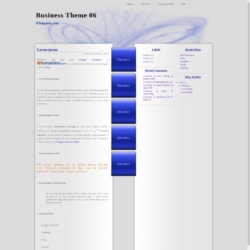 Business Theme 06 Blogger Template