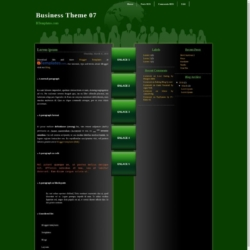 Business Theme 07 Blogger Template
