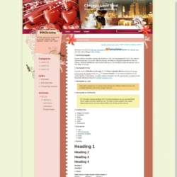 Chicago Love Beat Blogger Template