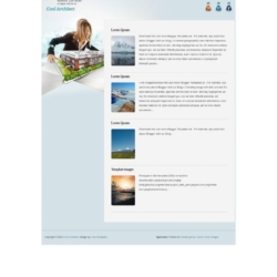 Cool Architect Blogger Template