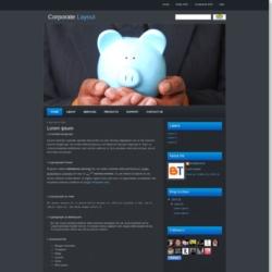 Corporate Blogger Template