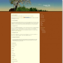 Country Side Blogger Template