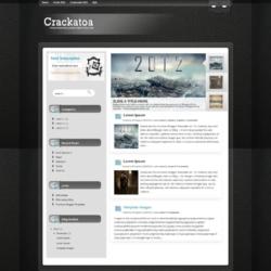 Crackatoa Blogger Template