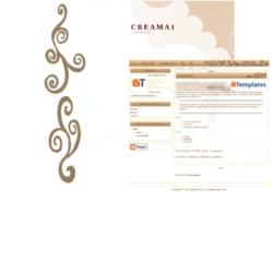 CreamA1 Blogger Template