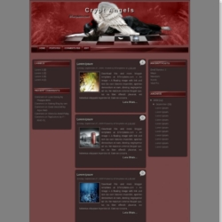 Crypt Angels Blogger Template