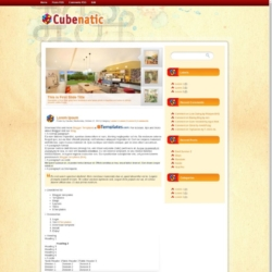 Cubenatic Blogger Template