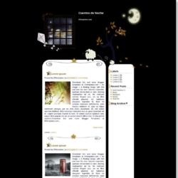 Cuentos de Noche Blogger Template
