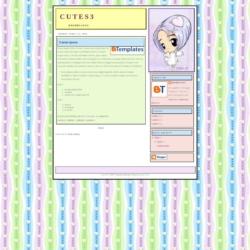 Cute S3 Blogger Template