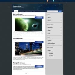 DesignOra Blogger Template