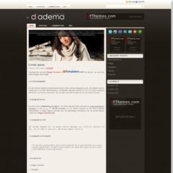 Diadema Blogger Template