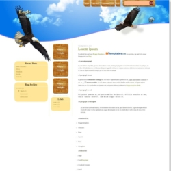 Eagle Blogger Template