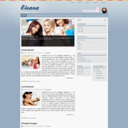 Eleana Blogger Template