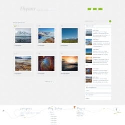 Elegance Gallery Blogger Template