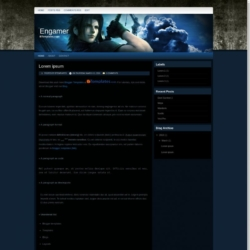 Engamer Blogger Template