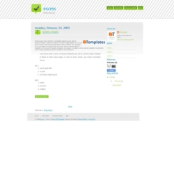 Excess Blogger Template